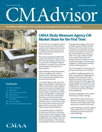CMAA Study Measures Agency CM Market Share for the First Time