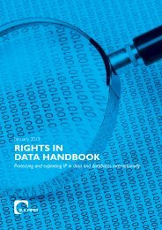 RIGHTS IN DATA HANDBOOK - The Lawyer