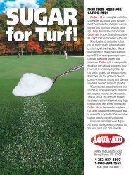 Sugar For Turf - Aqua-Aid