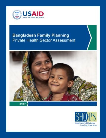 Bangladesh Family Planning Private Health ... - (SHOPS) project
