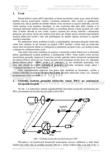 KANIOK, J. Výzkum nového systému dokonalého přesného ...