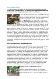 Paula Modersohn Schule_1 - Ganztägig Lernen - Bremen
