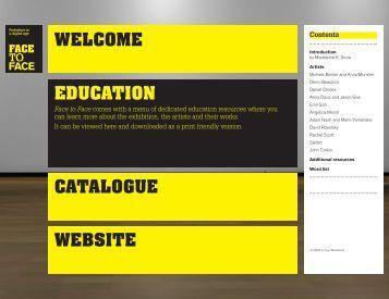 Exhibition education resource - DLux Media Arts