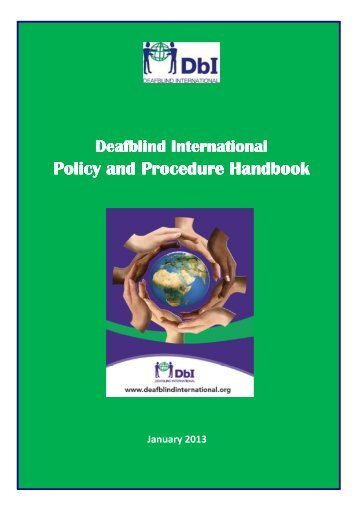Policy and Procedure Handbook Policy and Procedure Handbook