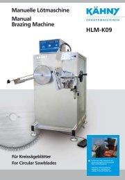 HLM-K09 Manuelle Lötmaschine Manual Brazing Machine Für