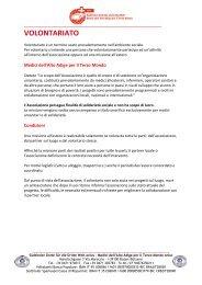 download volontariato (pdf) - Südtiroler Ärzte für die Dritte Welt onlus