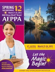 Magic Begin! - Association of Family Practice Physician Assistants