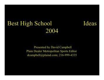 Printable PDF - Associated Press Sports Editors