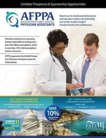 Sponsorship & Promotion Opportunities - Association of Family ...