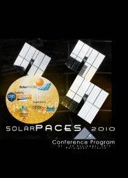 ES Conference - SolarPACES 2010