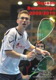 Bundesligaheft PSC - Paderborner Squash Club