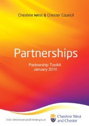 Partnership Toolkit March 2010 - West Cheshire Together