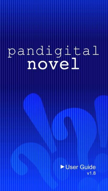 Pandigital Novel User Guide