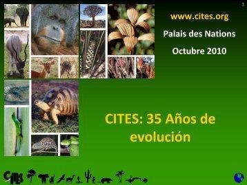 CITES: 35 Años de evolución