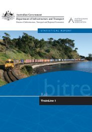 PDF: 5957 KB - Bureau of Infrastructure, Transport and Regional ...