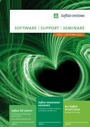 software | support | seminare - SoftEd Systems GmbH