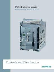 Instruções de funcionamento SENTRON Disjuntor aberto ... - Industry