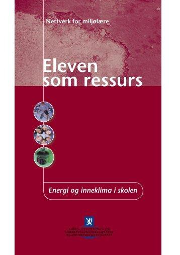 Eleven som ressurs - Nettverk for miljølære