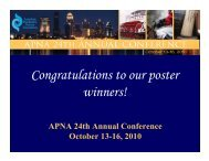Congratulations to our poster winners!