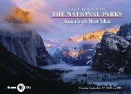 National Parks Postcard - WETA