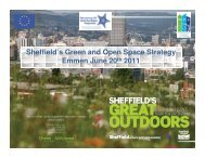 Sheffield's Green and Open Space Strategy Emmen ... - MP4-Interreg