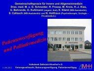 Vortrag Dr. (RO) Georg Schneider - Volksbank Delbrück-Hövelhof eG