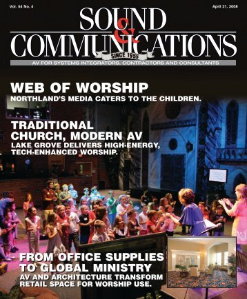 Sound & Communications April 2008 issue