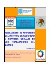 reglamento de uniformes del instituto de seguridad y servicios ...