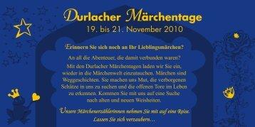 Durlacher Märchentage - Omega-Zentrum