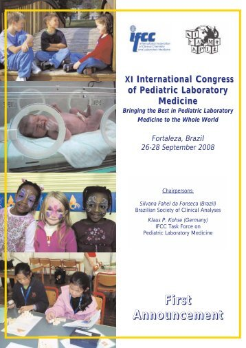 XI International Congress of Pediatric Laboratory Medicine Bringing ...