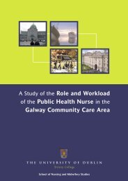 A Study of the Role and Workload of the Public Health Nurse in the ...