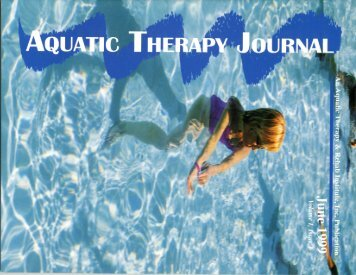 Pre-Fabricated Therapy Pools - Aquatic Consulting Services