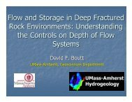 Understanding the Controls on Depth of Flow Systems