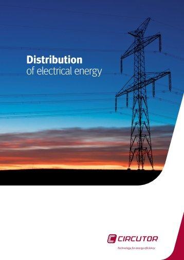 Distribution of electrical energy - Circutor