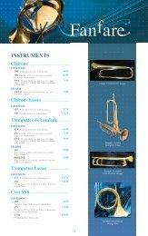 Télécharger le Catalogue Batterie-Fanfare - Feeling Musique