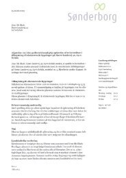 Jens Ole Bladt Nørre landevej 42 6470 Sydals Afgørelse om ikke ...