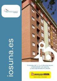Viviendas de 2, 3 y 4 dormitorios en urbanización con piscina y ...