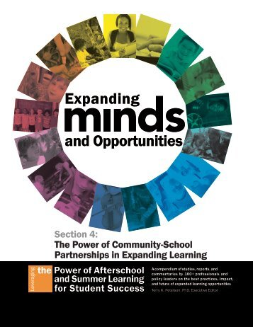 Expanding and Opportunities - Expanded Learning