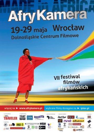 Program Festiwalu Filmów Afrykańskich Afrykamera 2012