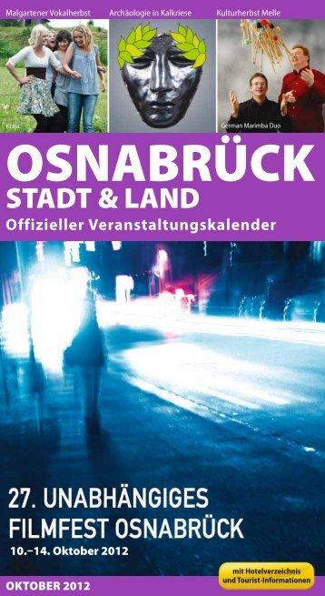 VERANSTALTUNGEN - Stadt Osnabrück