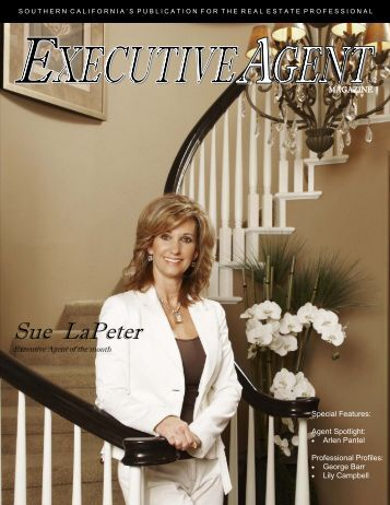 Sue LaPeter - Executive Agent Magazine