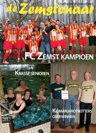 FC ZEMST KAMPIOEN - De Zemstenaar