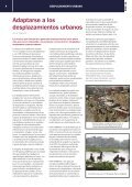 Adaptarse al desplazamiento urbano - Acnur - Page 4
