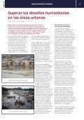 Adaptarse al desplazamiento urbano - Acnur - Page 5