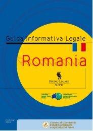 Romania - Camera di Commercio Pavia - Camere di Commercio