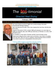 The TES-timonial - February... - TES - Thermal Energy Systems