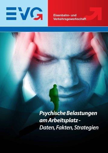 Psychische Belastungen am Arbeitsplatz - Eisenbahn und ...