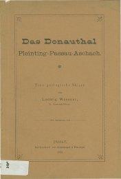 D as Donauthal - in der Staatlichen Bibliothek Passau