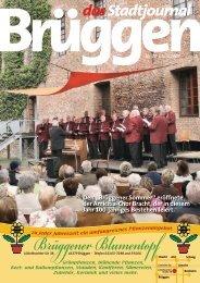 Stadtjournal Juni 2009.pdf - Stadtjournal Brüggen