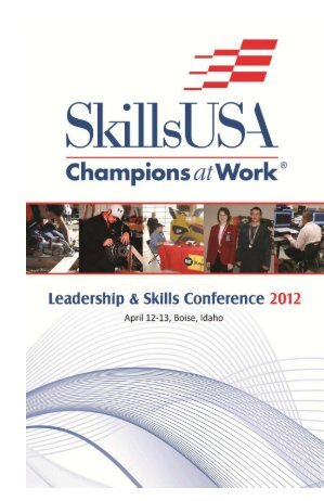 2012 State Leadership & Skills Conference - Idaho Professional ...